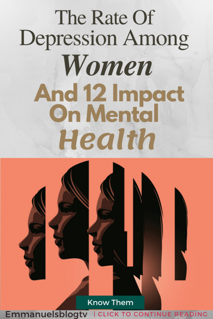 The Rate Of Depression Among Women And 12 Impact On Mental Health
