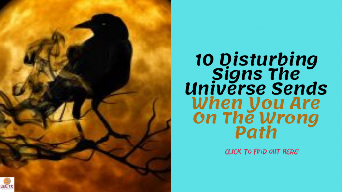 10 Warning Signs The Universe Sends When You Are On The Wrong Path
