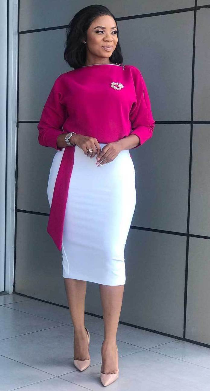 How to Look Classic Like Serwaa Amihere for Plus Size & Curvy Ladies 2020 – 50+ Outfits