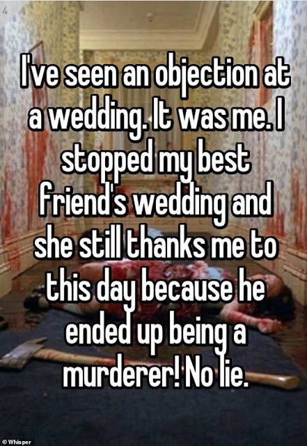 Hilarious! Wedding guests narrate times they witnessed objections at altars including from mother-in-laws & sisters!