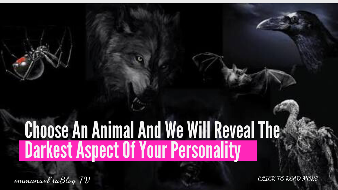 Choose An Animal And We Will Reveal The Darkest Aspect Of Your Personality