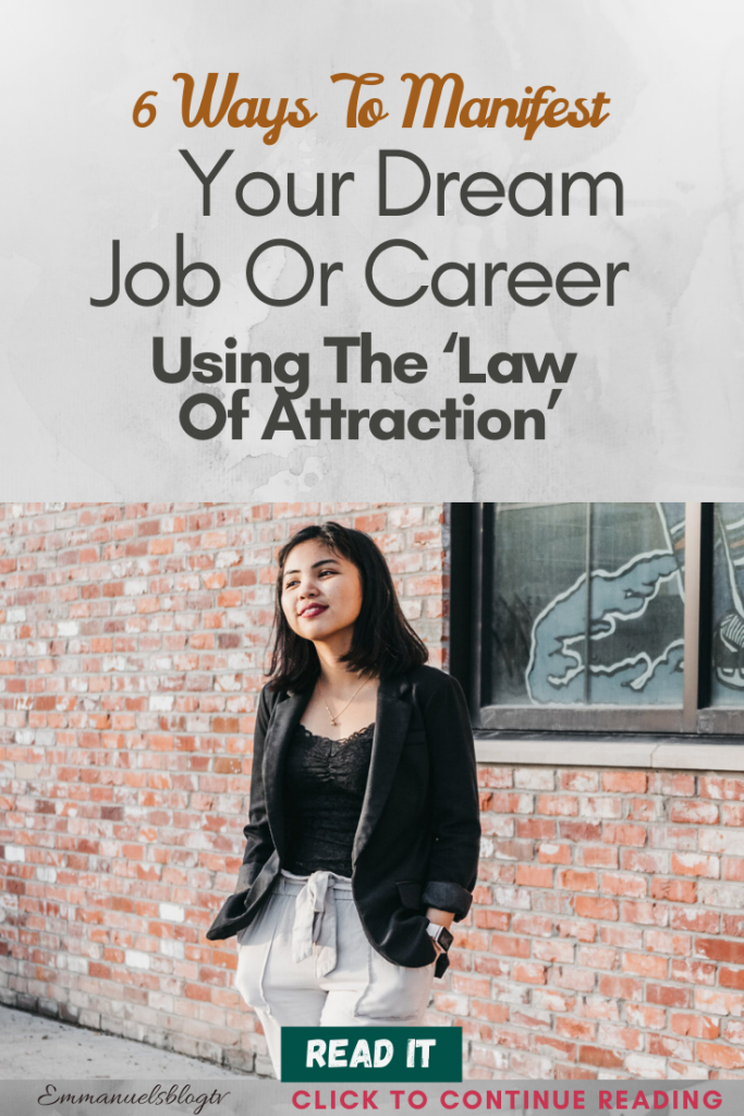 6 Ways To Manifest Your Dream Job Or Career Using The 'Law Of Attraction'