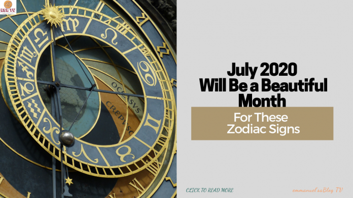 July 2020 Will Be a Beautiful Month For These 5 Zodiac Signs