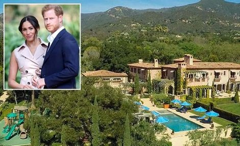 Interior decor of Harry & Meghan's sprawling new $14.7m mansion They Moved intop