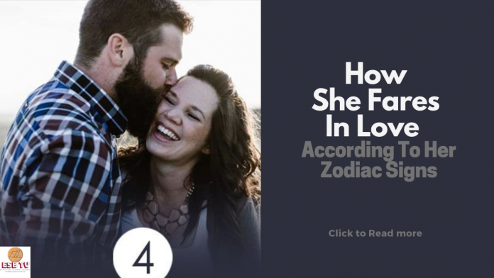 How She Fares In Love According To Her Zodiac Signs