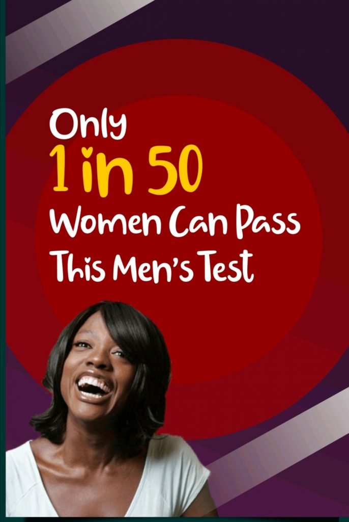 Only 1 In 50 Women Can Pass This Men's Test