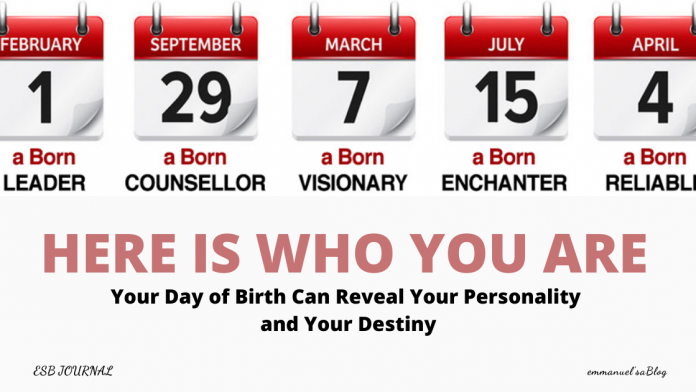 Numerology - Your Day of Birth Can Reveal Your Personality and Your Destiny
